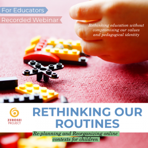 Rethinking Our Routines – Recorded Webinar