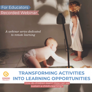 Transforming Activities into Learning Opportunities – Recorded Webinar