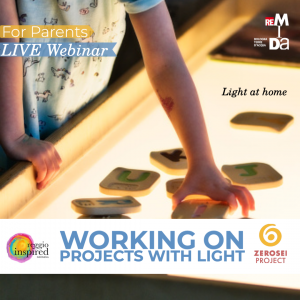 Working on Projects with Light