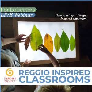 Reggio Inspired Classroom's set up